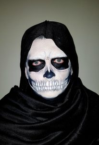 Classic Skull man Halloween makeup