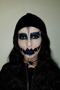 Devil Halloween makeup