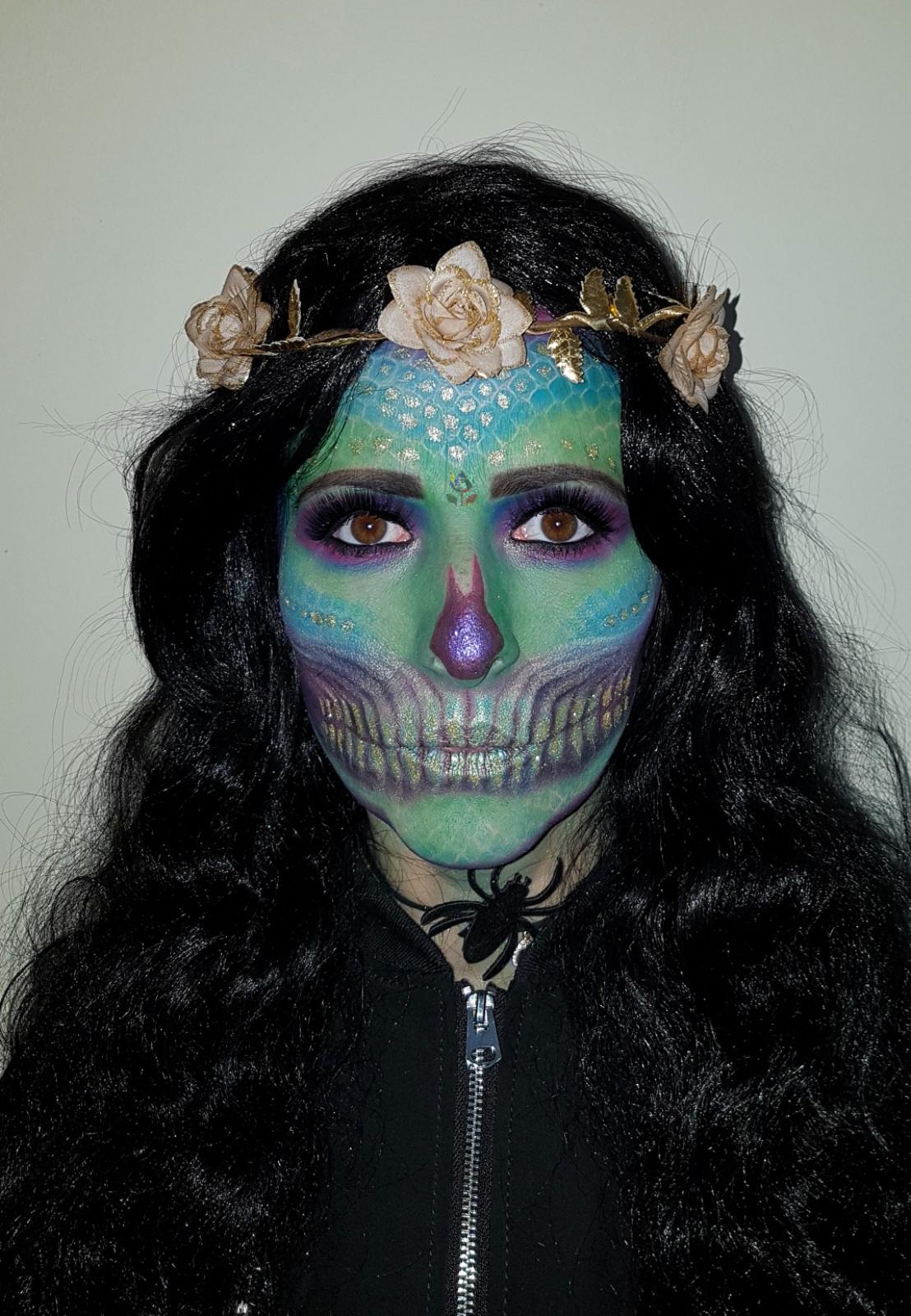 Cosmetics And Makeup: Halloween Make Up, Sugar Skull, Easy Skull, Classic Skull
