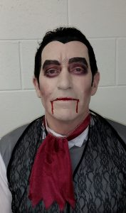 Vampire Halloween makeup