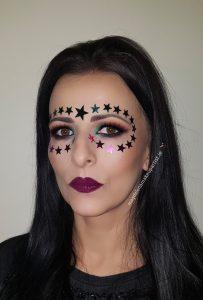stars festival makeup idea