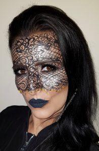 lace mask carnival masquerade makeup